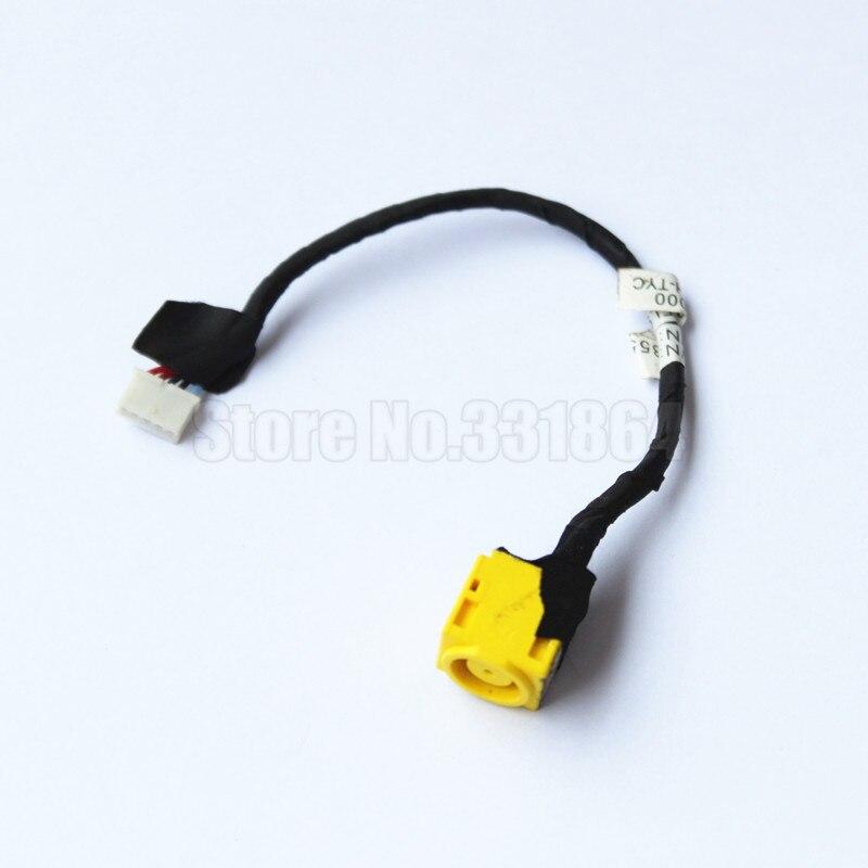 AC DC Power Jack Harness Porto Conector do Soquete com Fio de Cabo para Lenovo Thinkpad X130E X131E X120 X121E X140E E145