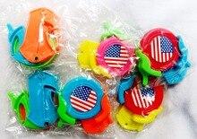 Jouet sac de fête pour garçons et filles   Mini, tireur de 50 disques volant, drapeau américain, 491