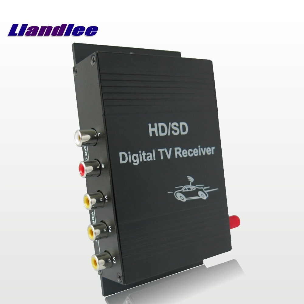 Car Digital ATSC Receiver Mobile D-TV HD Turner Antenna Host For Toyota For Nissan For Mazda For Honda For Subaru