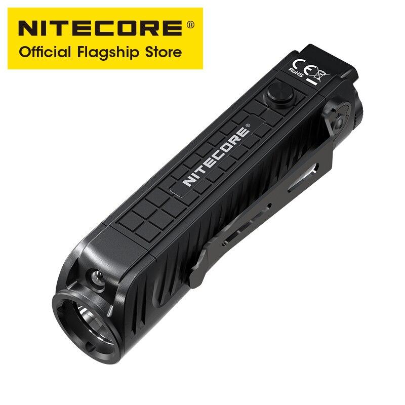 NITECORE P18 Dual Light LED flashlight Source Casting 1800 Lumens Ultra-bright Silent Auxiliary Red Light Tactical Flashlight enlarge