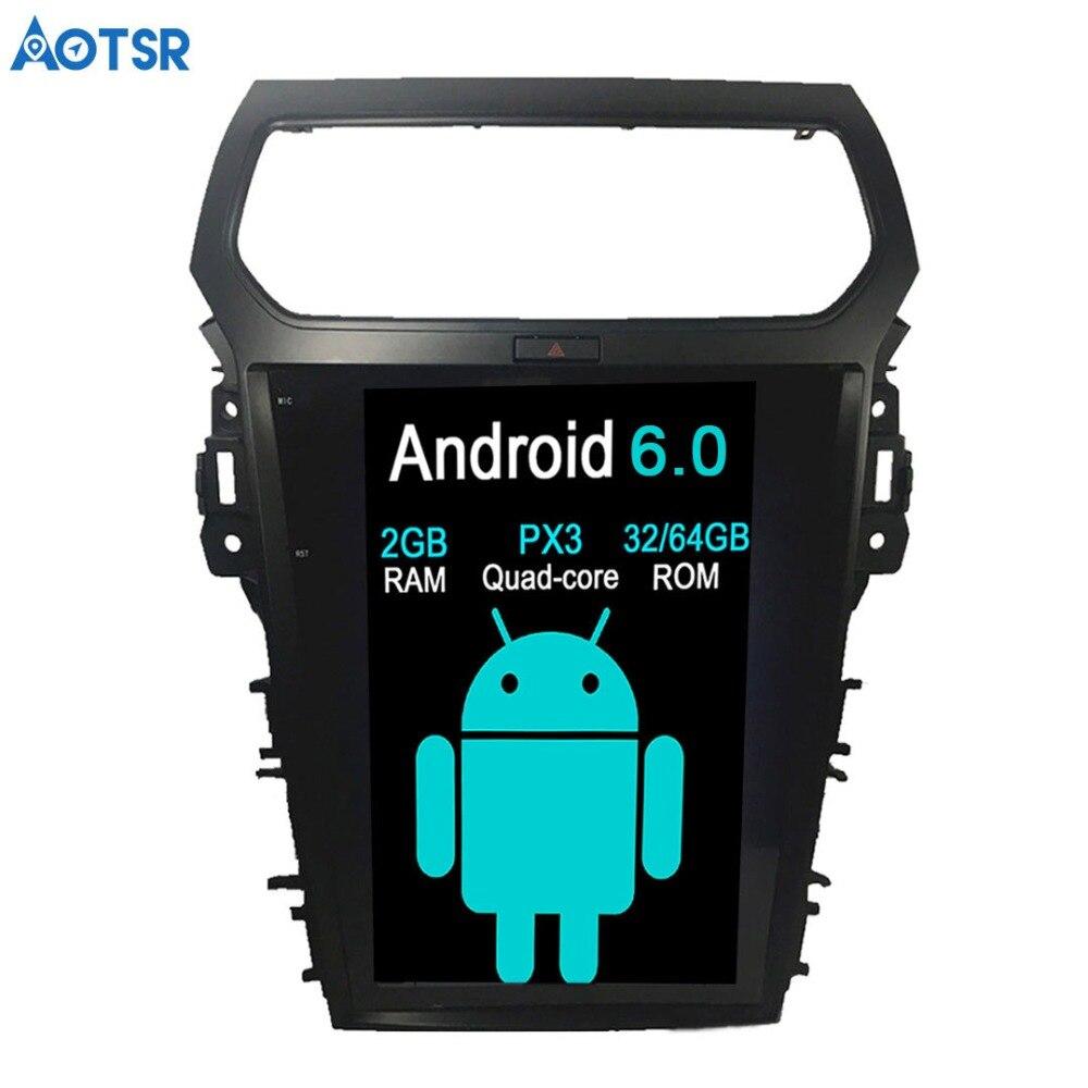 Aotsr Tesla Android 7,1 reproductor de DVD del Coche de navegación GPS...