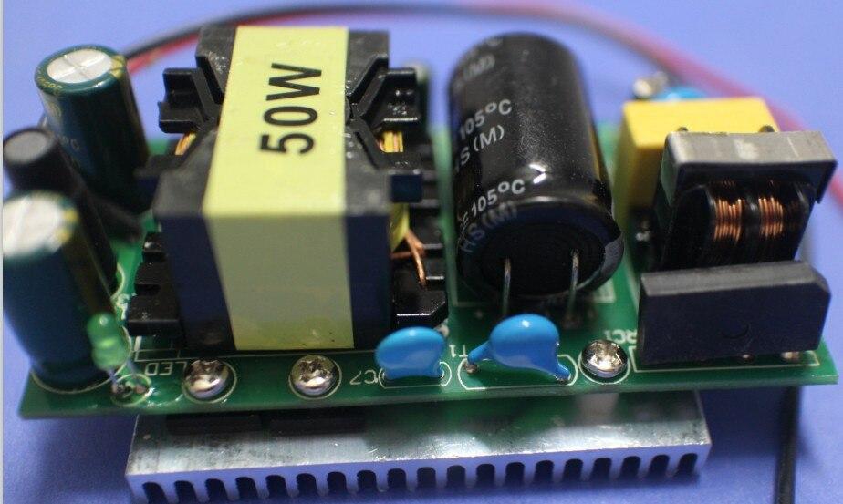 Große Förderung 50 Watt Led-treiber Licht Lampe Chip für Transformatoren Netzteil 1.5A Eingang 85-265 V Ausgang 28-34 V