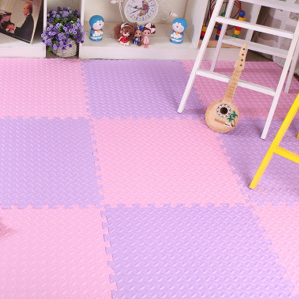 10 Pcs/Lot Play Mat EVA Foam Puzzle Kids Rug Children Puzzles Interlocking Exercise Floor Playmat  Baby Activity Infant Carpet