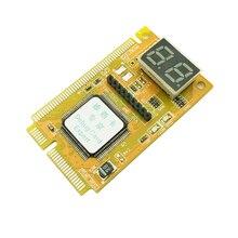 POST Card PCI-E LPC PC Analyzer Tester Diagnostic Card Adapter Plastic Metalen Hoge Stabiliteit Voor Notebook Laptop ExpressCard NIEUWE