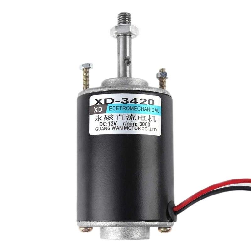 Акция! Xd 3420 30 Вт постоянный магнит постоянного тока высокая скорость двигателя