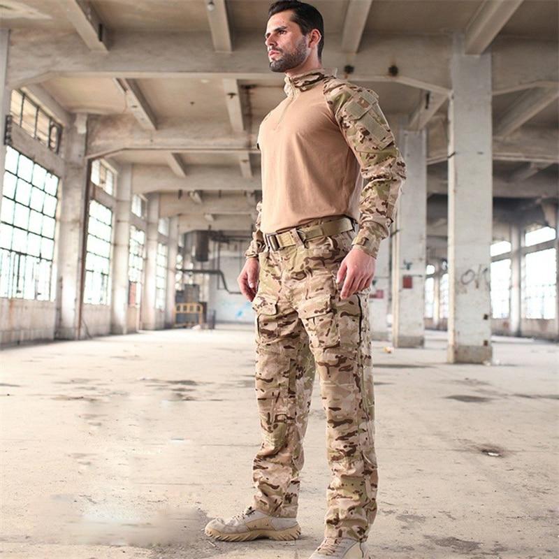 Uniforme militar de camuflaje para deportes al aire libre, ropa táctica de camuflaje, traje masculino MCBK Tropic Aroid CB MC Gray