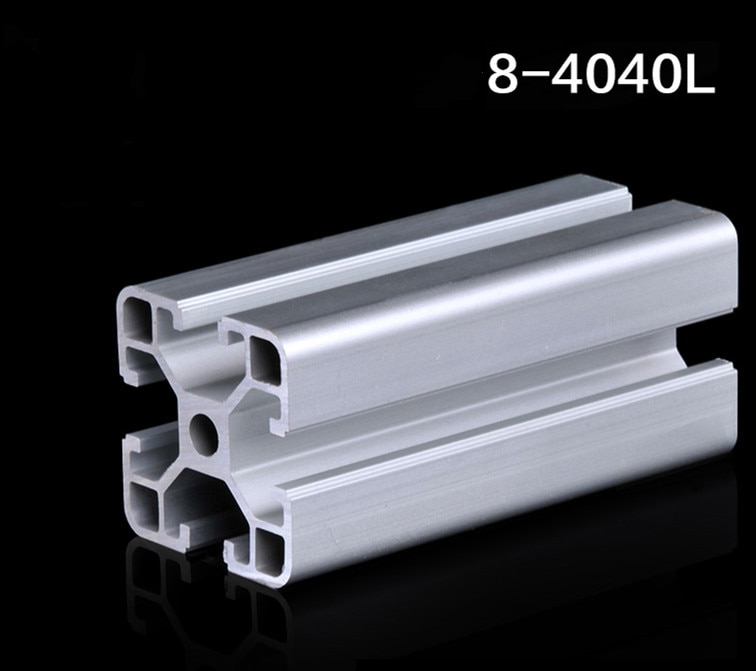 Perfil de aluminio Industrial 4040 perfil de aluminio estándar nacional marco de línea de aluminio 4040L perfil de aluminio