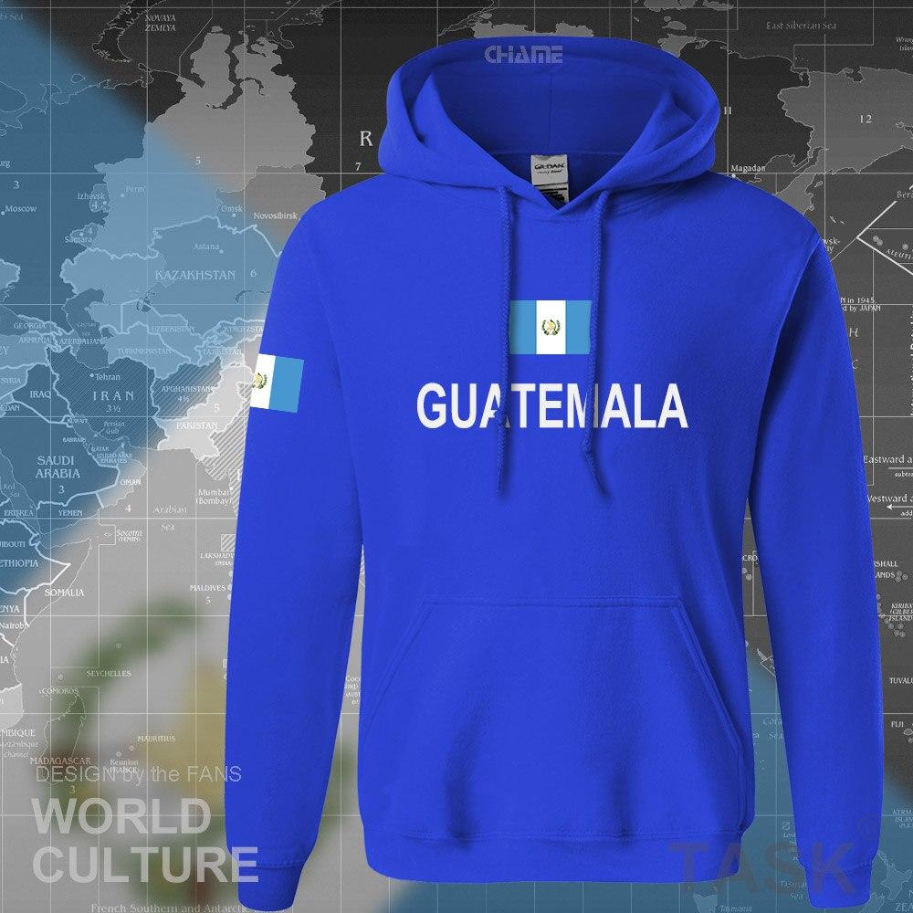 República de Guatemala sudaderas con capucha de Guatemala para hombre sudadera nueva ropa informal estilo hip hop chándales nación futbolista sporting GTM