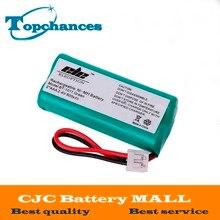 Haute qualité 2 * AAA Ni-MH 800 mAh 2.4 V Rechargeable sans fil batterie de téléphone à la maison pour Uniden BT-1011 BT1011 BT-101 BT1018
