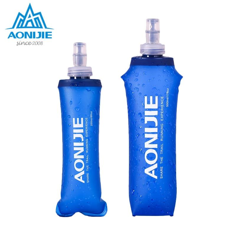 Спортивная Складная мягкая фляжка AONIJIE без бисфенола А сумка для воды бутылка