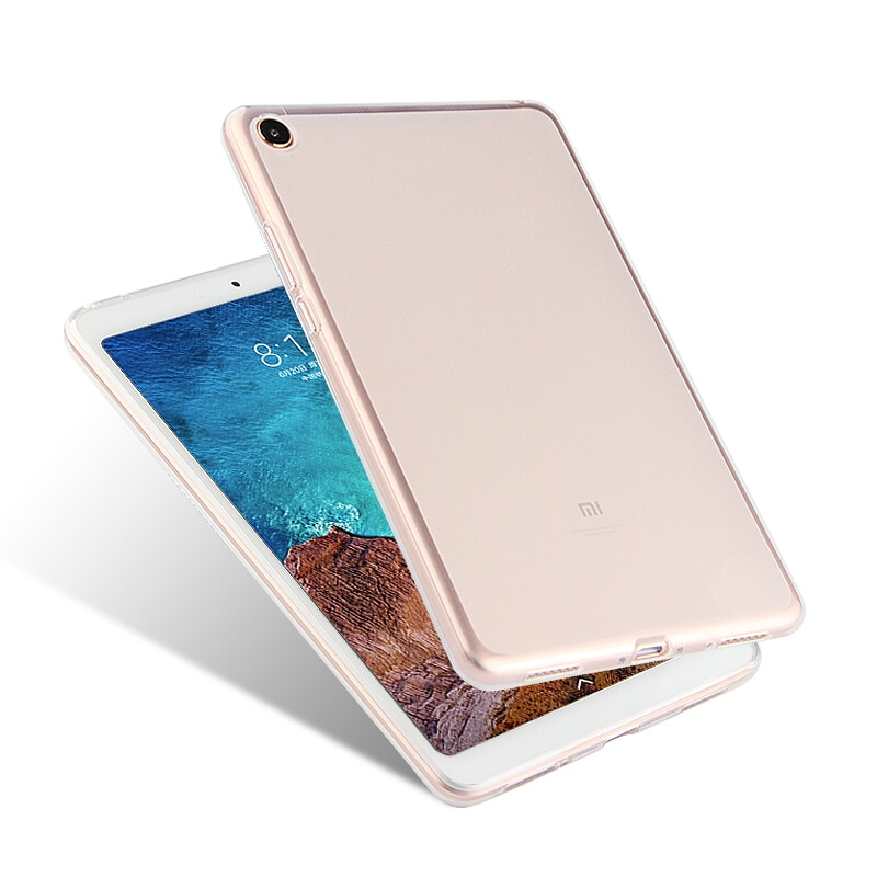 Case For Xiaomi Mi Pad 4 8.0 Cover 360 Full Protection Soft Matte Cover For Xiaomi MiPad 4 2018 New 8 inch Tempered Glass Cover