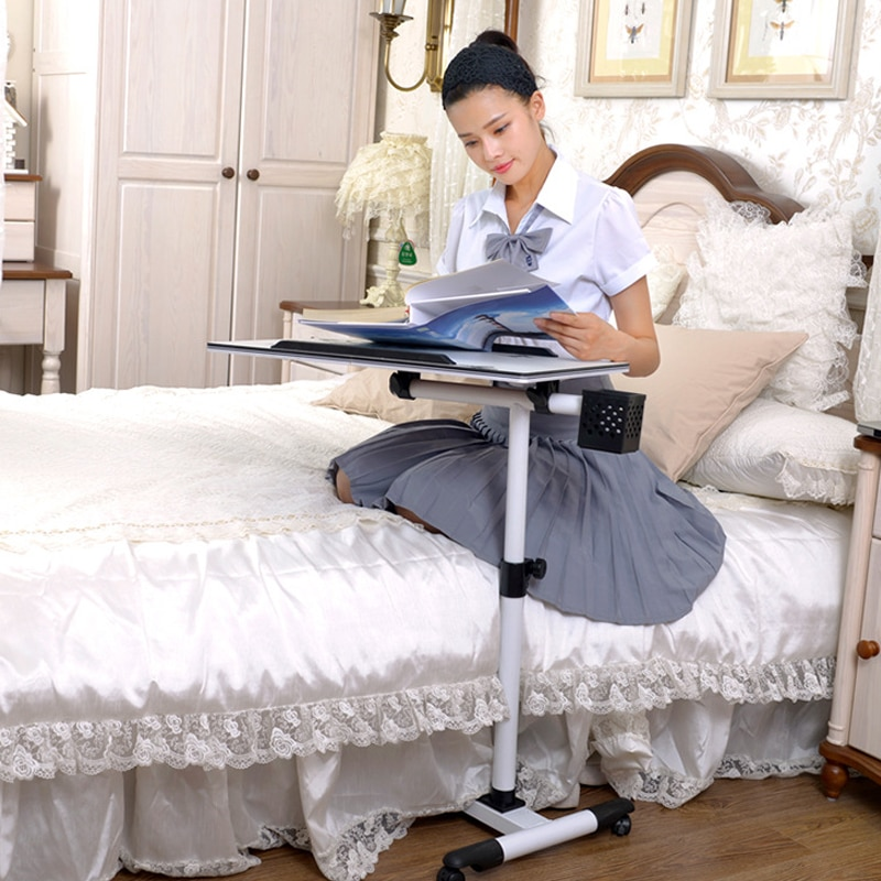 Практичный стол для ноутбука учебный дивана кровати складной ПК есть