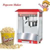 Commercial Electric Popcorn Maker Making Machine 220V Classic Desktop Commercial Popcorn Maker Machine