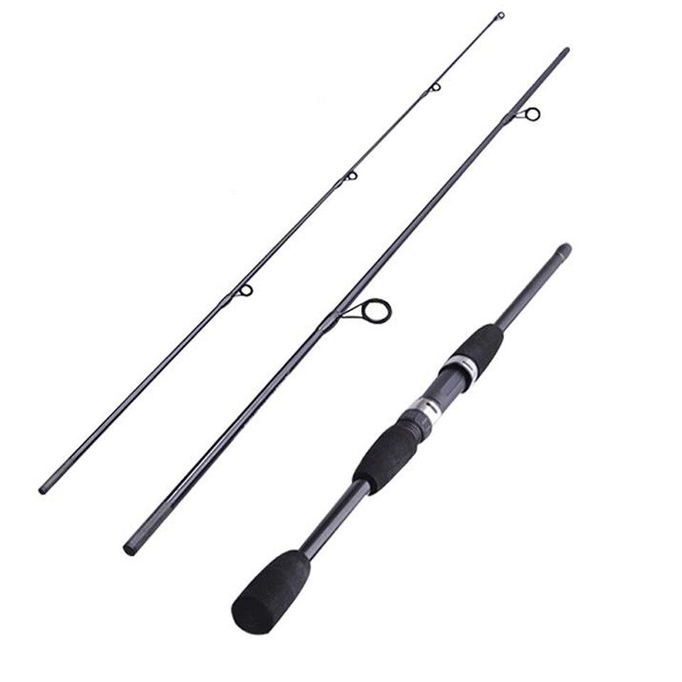 Caña de pescar de fundición de 1,8 m y 2,1 m, caña de pescar de fundición de potencia M, caña de pescar de caña de pescar, caña de pescar de caña media rápida