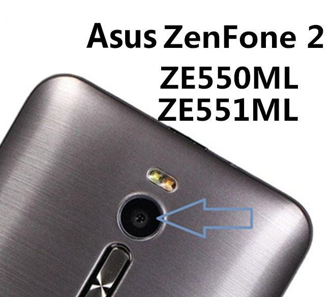 Стеклянная пленка Coopart для задней камеры Asus ZE551ML ZE550ML 4G с наклейкой, 2 шт./лот