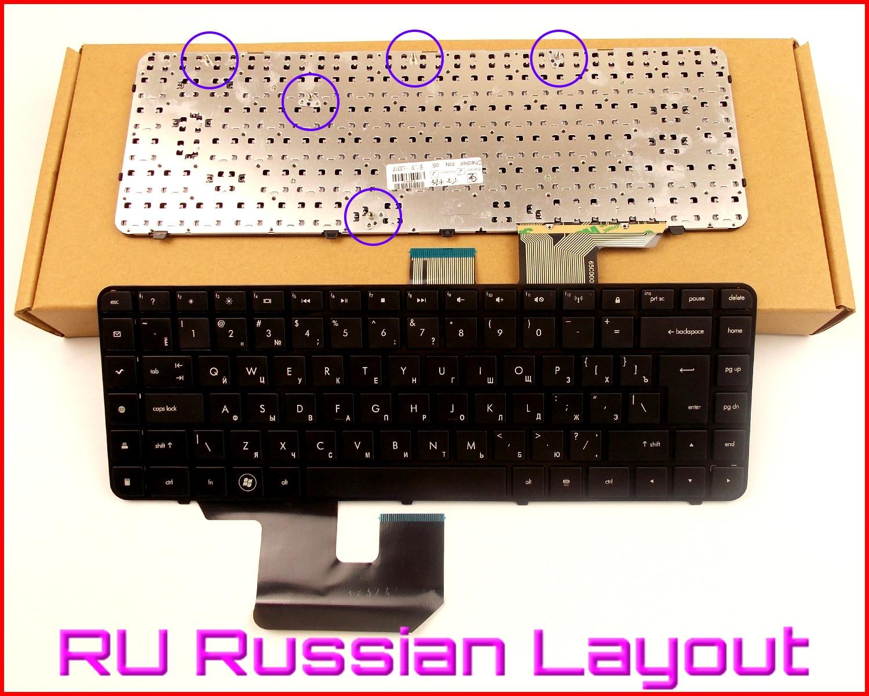 Nuevo teclado RU versión rusa para HP Pavilion 597635-001 597630-001 606744-031 606743-001 AELX6U00210 V112846AS1 portátil