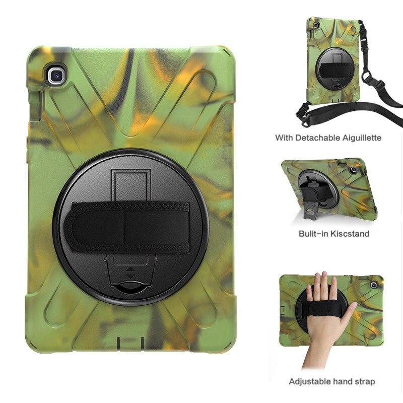 """Heavt Dever S5e Outfoors Caso À Prova de Choque para Samsung Galaxy Tab 10.5 SM-T720/T725 10.5 """"Tablet Cobertura Funda Com alça de ombro"""