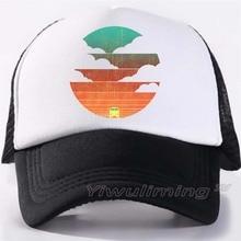 Nuevas gorras de camionero de verano para conducir en los suns, geniales gorras negras de malla de béisbol para adultos, gorras de camionero ajustables para hombres