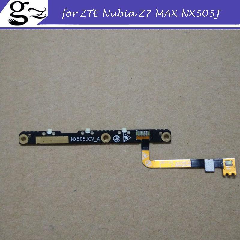 for Nubia Z7 MAX NX505J Power Button Volume Proximity Sensor Light Flex Cable Free Shipping