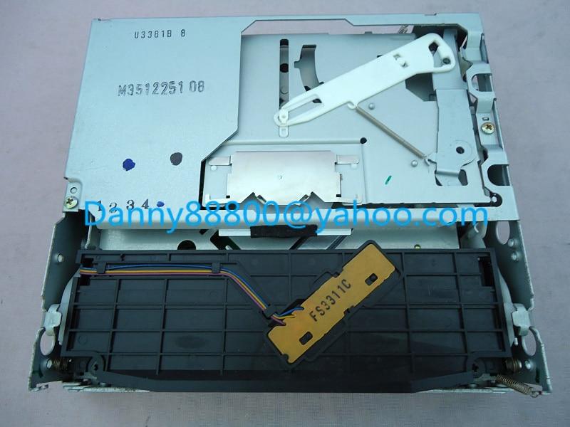 Mecanismo de cargador de plataforma Clarion single CD laufwerk para ChevRrolet Colorado Malibu Express 1500 2500 Blazer Torrent 2004-2007