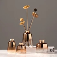 glass vase decoration modern minimalist home living room hydroponic small vase soft flower vases
