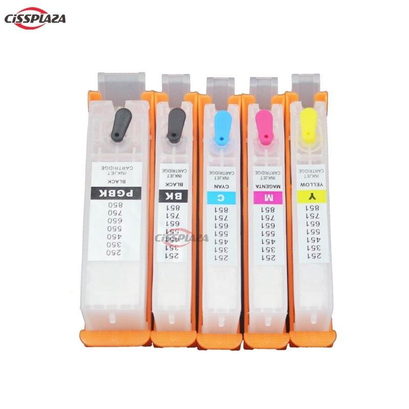 Recarga do Cartucho de Tinta Compatível para Ip7210 Conjuntos Cissplaza Mg5410 Mg5510 Mg6410 Mg6610 Mg5610 Mx921 Mx721 Ix6810 10 Pgi-150 Pgi150