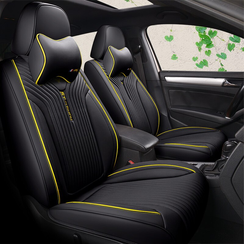 5 asientos (Frente + trasero) funda de asiento de coche cojín de asiento para Renault Scenic Fluence, acura ZDXILX TLX un Buick Regal Excelle coche estilo