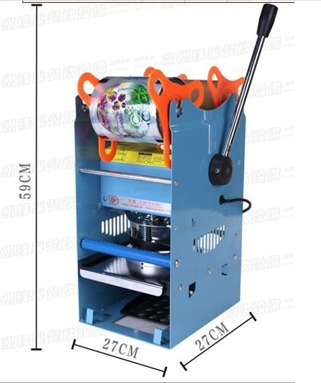 AC220V Manual Cup Sealing Machine for food and drink package,Manual cup sealer,bubble tea cup sealing machine