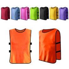 Accessoires de sport enfants enfant sport déquipe Football Football formation Pinnies maillots Train bavoir gilet