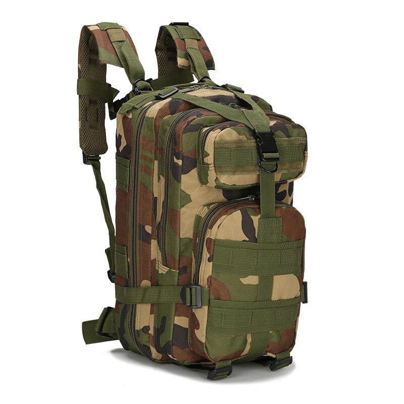 2019 nueva mochila táctica al aire libre 3P militar 30L Molle bolsa ejército deporte viaje mochila Camping senderismo camuflaje bolsa