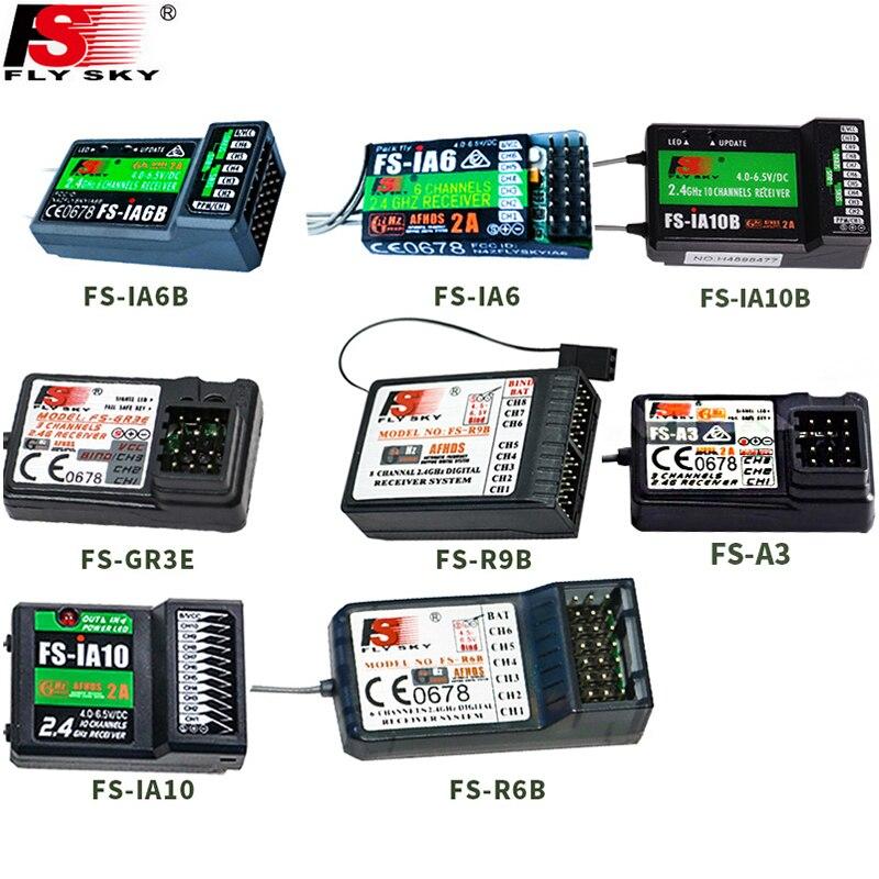 Flysky FS-GR3E FS-A3 FS-A6 FS-R6B FS-X6B FS-iA6 FS-iA6B FS-BS6 FS-A8S FS-R9B FS-iA10 FS-iA10B Rc Receiver for Flysky Transmitter flysky receiver fs gr3e fs a3 fs ia6 fs r6b fs x6b fs a8s fs r9b fs ia10b fs ia10