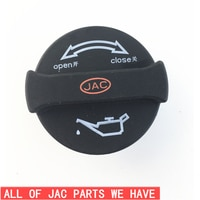FREE SHIPPING JAC Refine Add oil cap Tank Covers 1014080FB040