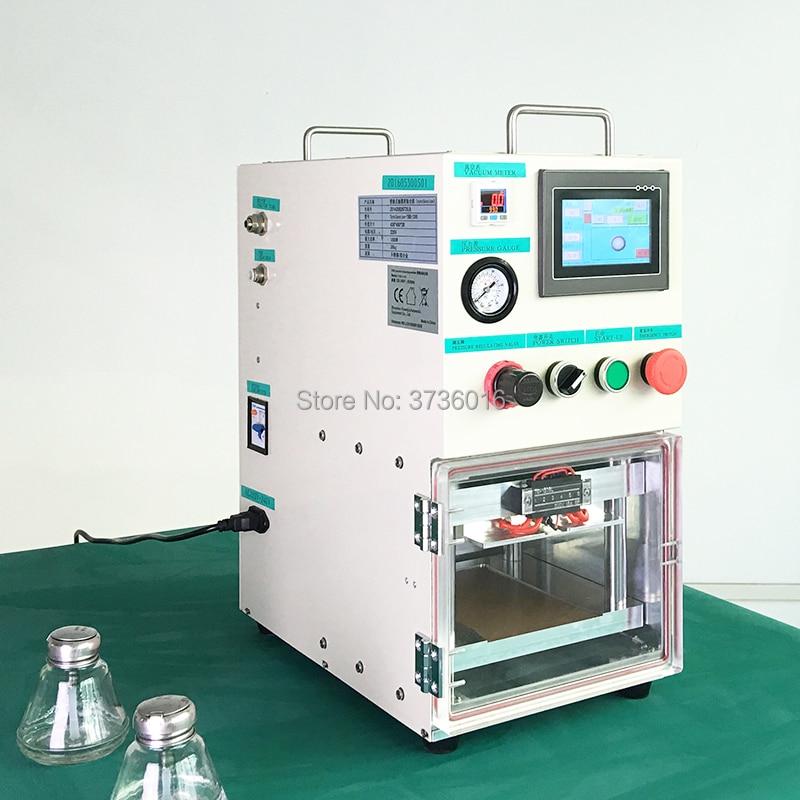 YMJ Hot selling Portable Laminating Machine for iphone for samsung edge lcd screen oca cold press laminating repair Renovation
