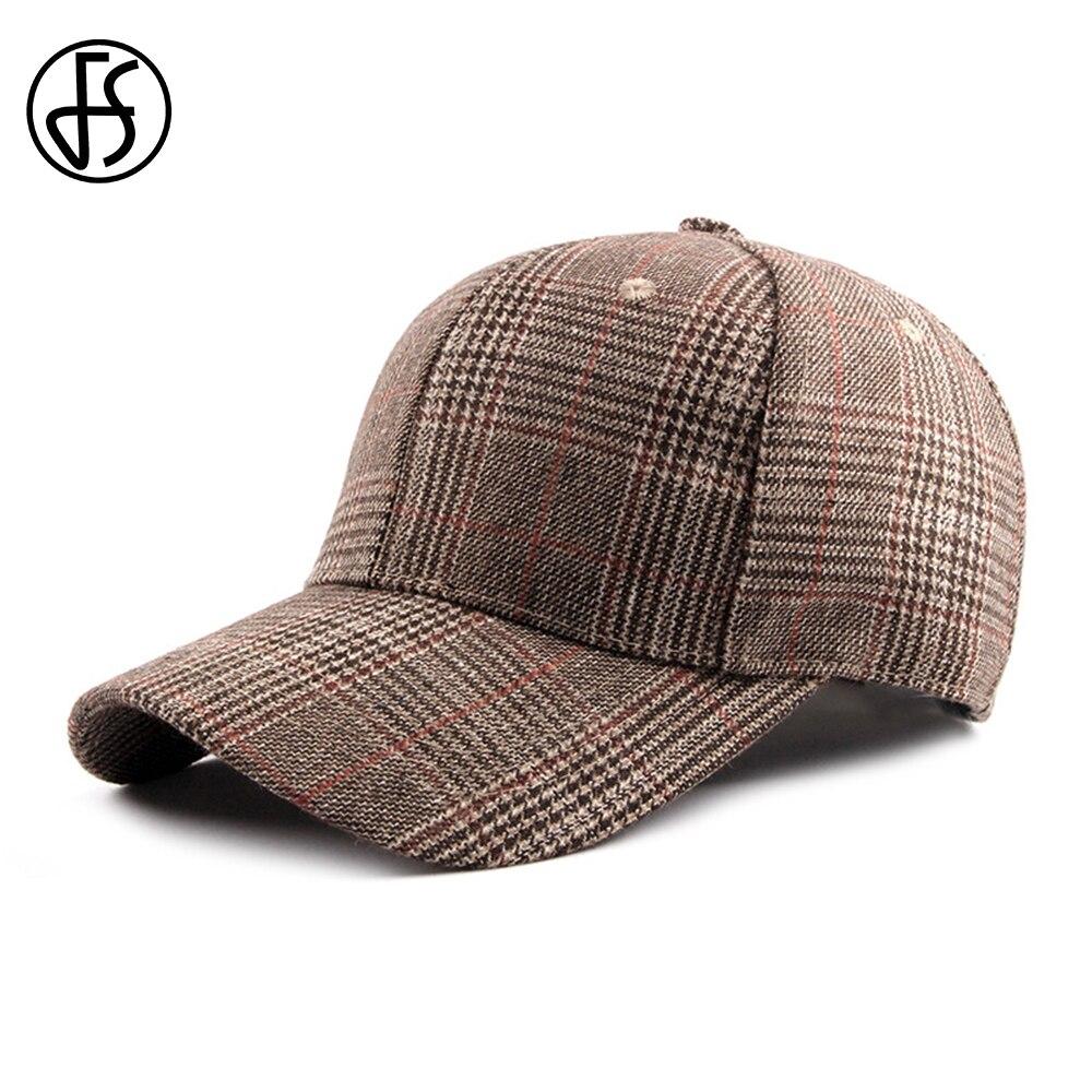 FS British Style Summer Cap Men Women Baseball Caps Thin Blue Line Casual Streetwear Brown Bone Masculino Dad Hats