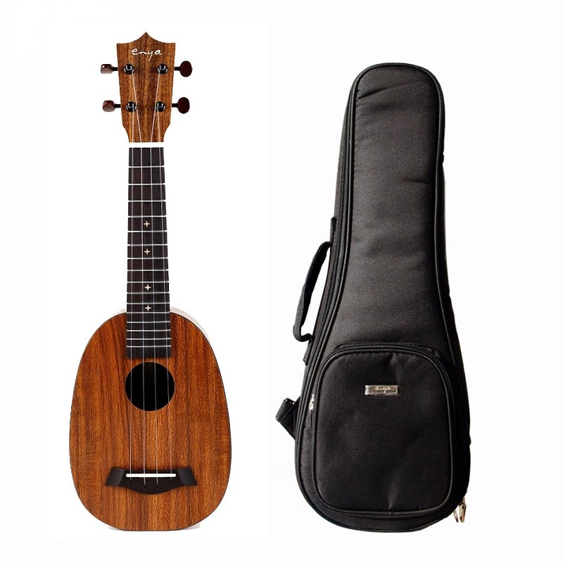Enya 21 inch EUP-X1 Pineapple HPL KOA Ukulele Acoustic Uke 4 Strings Hawaii Guitar With Bag Accessories enlarge