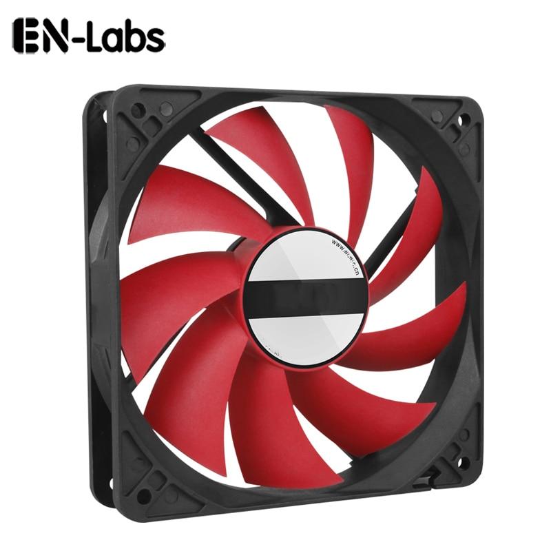 En Labs Hülse Lager 120mm Fall Fan Kühlkörper Kühler PC Computer Heizkörper, 12CM Fan Power durch 12VDC 3Pin IDE Molex 4pin