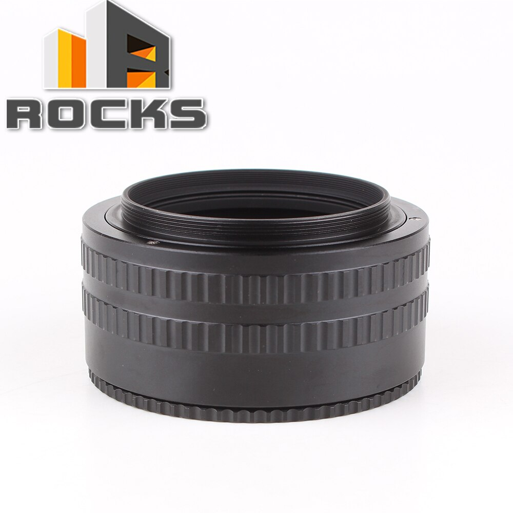 Pixco M58 a M58 36mm a 90mm lente de montaje ajustable enfoque helicoidal Macro tubo adaptador-