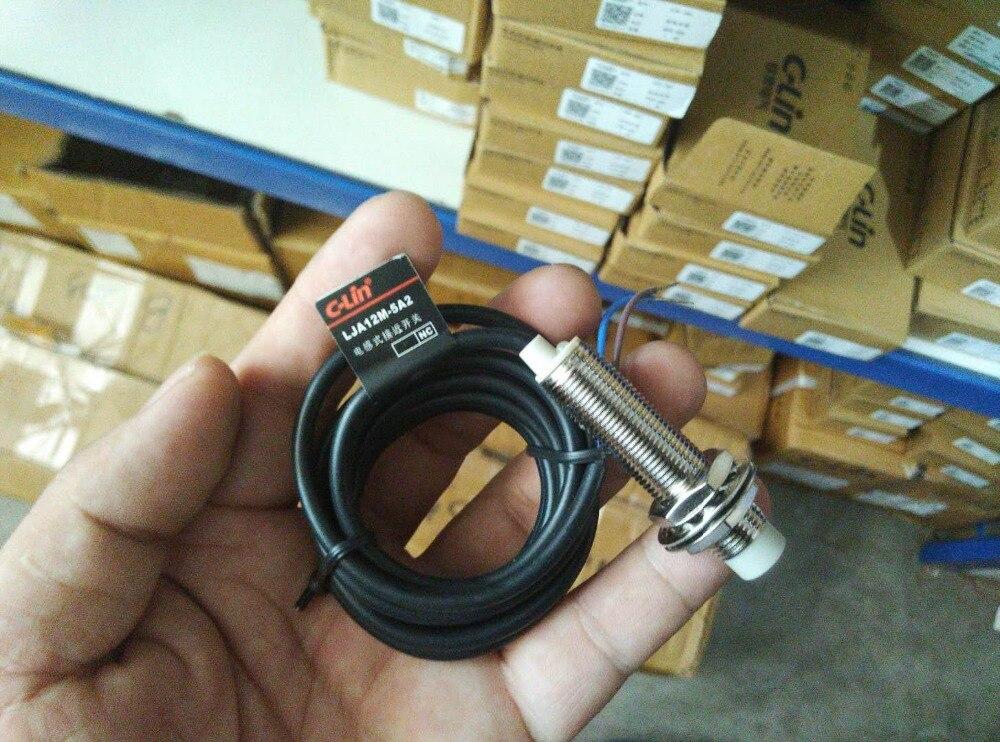 العلامة التجارية الجديدة الأصلي أصيلة C-لين LJA12M-5A2 AC سلكين عادة مغلقة نوع حثي التبديل