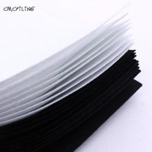CMCYILING Black White 1mm Hard Felt Sheets For Felt Craft DIY Craft Arts Crafts & Sewing Scrapbook Hometextile A4
