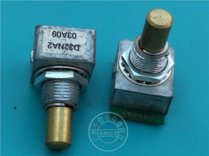 [Vk] usado cui inc codificador óptico d32na2 com pisando 32 pontos eixo 18mm interruptor