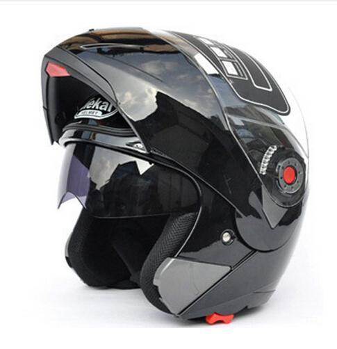 Rabatt Sichere Flip Up Moto rcycle Helme moto helm moto kreuz moto rbike Helm Mit Inneren Sonnenblende JIEKAI-105 DOT ECE