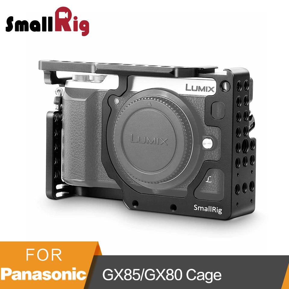 SmallRig клетка для камеры Panasonic Lumix DMC-GX85/GX80/GX7 Mark II-1828