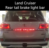 for 08 19 toyota land cruiser rear tail door trim strip lamp land cruiser led rear brake light modification