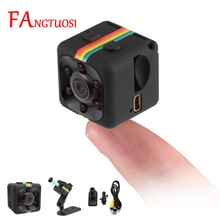 FANGTUOSI sq11 Mini Camera HD 1080P Sensor Night Vision Camcorder Motion DVR Micro Camera Sport DV V