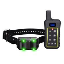 Sound & Vibration Anti Bark Dog Collar,1200m remote range dog training collar, dog trianer with Highlight led funtion