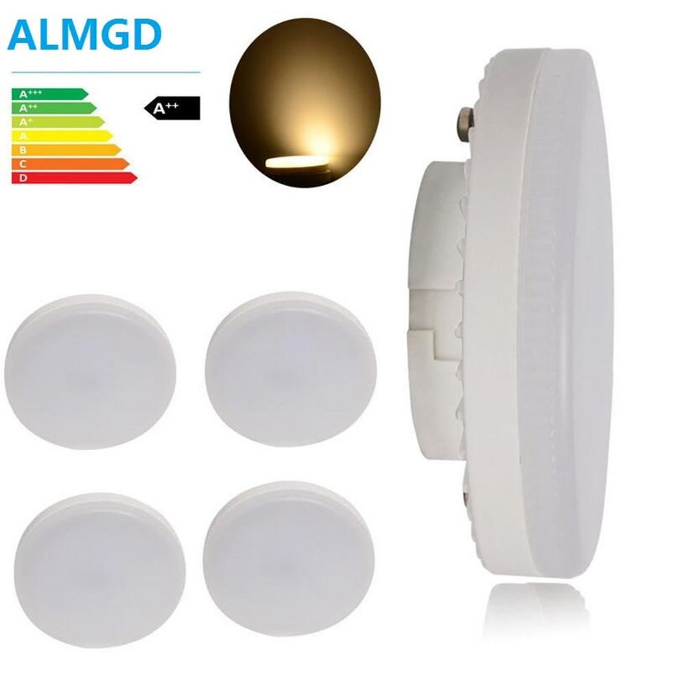 GX53 LED ampoule 5W 7W 9W lampe Led GX53 smd2835 GX 53 Base lampe LED ca 220V 230V 240V lumières blanc chaud