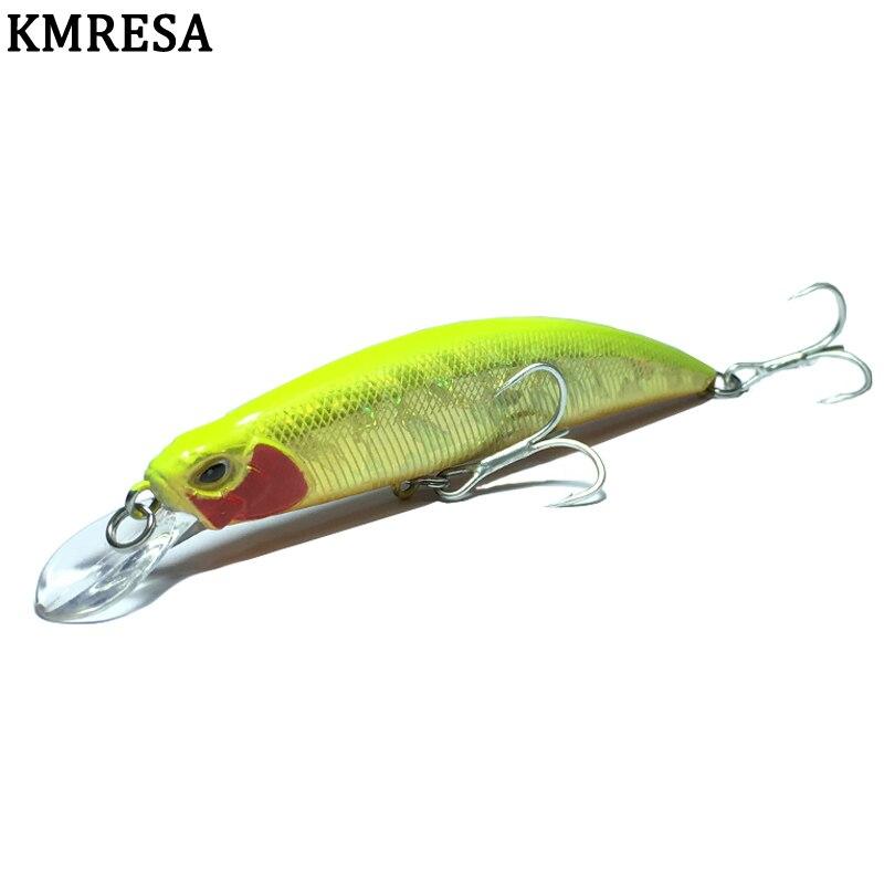 1 st vissen lokt minnow 11 cm 15g Harde Vissen Lokken Crank Aas dive 1-3 m Lake river Fishing Wobblers Karper spiertrekkingen lokken