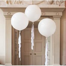 1pcs 36Inch Color big Latex Balloon Inflatable Helium Balloon Giant Balloon Wedding Birthday Party Large Balloon Decoration 55