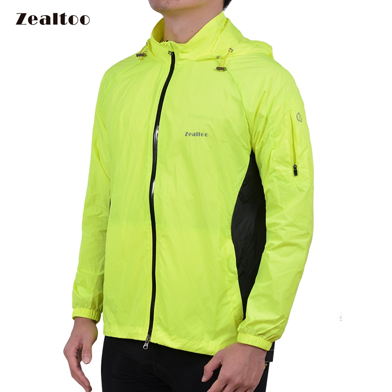 Zealtoo Ropa Ciclismo MTB Ciclismo Jersey multifunción chaqueta impermeable bicicleta equipo Ropa
