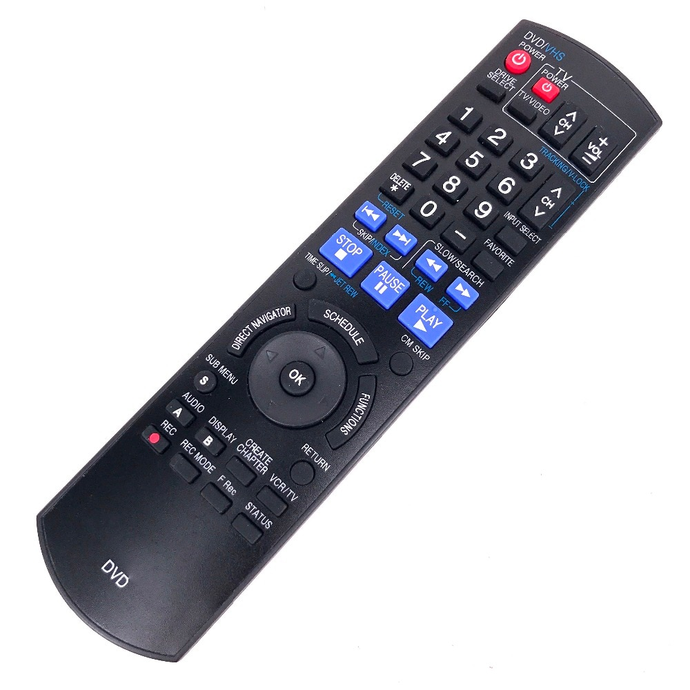 NEW remote control For Panasonic Fit for DVD N2QAYB000197 DMR-EZ48V new n2qayb000011 remote control fit for panasonic dvd dvd s1s dvd s1